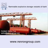 Tanque da embarcação de pressão dos produtos químicos - tanque T-27 do ar do armazenamento