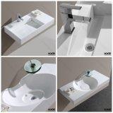 Le lavage extérieur solide de Corian de meubles modernes de salle de bains a arrêté des bassins