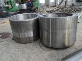 Tamanho grande do cilindro de aço do forjamento