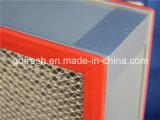 Filtro inferior de la resistencia HEPA para las piezas de automóvil del sitio limpio