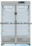refrigerador médico da quantidade de 2 a 8 graus de altura para manter a medicina (capacidade 1000L)