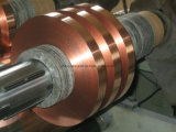 Materiais de isolamento Copper Mylar Foil Tape for Cable Shield