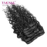 黒人女性のための人間の毛髪の拡張のペルークリップ