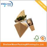 주문을 받아서 만들어진 음식 급료 Kraft 식품 포장 상자 (QYCI1523)