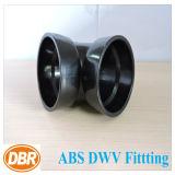 ABS Dwv de taille de 4 pouces ajustant 1/4 courbure courte