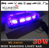 Emergency ambrato Mini Light Bar per Vehichles Linear Lens