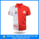Two feito sob encomenda Color Screen Printing Polo Shirt para Promotional