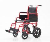 La presidenza di transito, piega indietro, sedia a rotelle, pieghevole e comodo, (YJ-031)