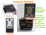 태양 에너지 Street Light System 360W Waterproof 15A Intelligent PWM Mini Solar Charge Controller 12V 24V