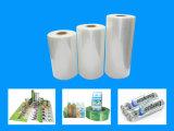 Film de rétrécissement de PVC pour l'étiquette de bouteille d'eau