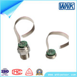Clear, Non-Corrosive Gas 및 Liquid를 위한 확산된 Silicon Oilless Pressure Sensor