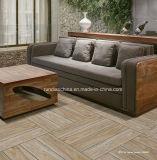 azulejo de suelo de madera del grano de la inyección de tinta 3D 150*600 Rd16020