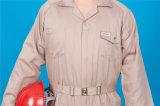 Tuta poco costosa del Workwear di sicurezza lunga del manicotto del poliestere 35%Cotton di 65% (BLY1028)