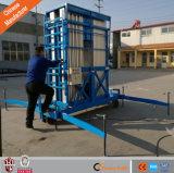 Platform van het Werk van het aluminium het Hydraulische Lucht met Vierwielig