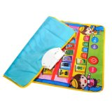 7582907-Kids Alphabet Musical Touch Play Singing Crawl Mat Baby Fun Child Educational Toy