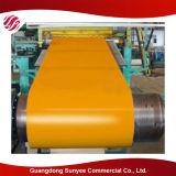 El color del edificio de la estructura de acero cubierto galvanizó la bobina de acero PPGL/PPGI