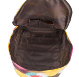 Sacs de sac à dos à sac à dos d'ordinateur portable d'école d'épaule de voyage de toile de cru