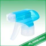 Pulverizadores plásticos coloridos de 28/410 de disparador dos PP para a limpeza da cozinha