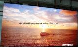 Farbenreiche P6mm flexible gebogene LED-Innenbildschirmanzeige