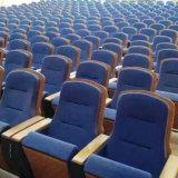 Asientos del auditorio, sillas del pasillo de la conferencia, silla del auditorio del empuje hacia atrás, asiento del auditorio del plástico, asiento del auditorio, asiento del auditorio, (R-6148)