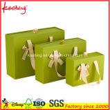 Bolsos y rectángulos especiales del regalo del estilo del cajón de la impresión de la cartulina del diseño