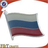 Pin differente promozionale della bandierina della Russia del metallo del paese (FTFP1611A)