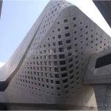 Painel de parede exterior de alumínio material do favo de mel da decoração do edifício