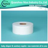 Papel de tejido de las materias primas del pañal de China con SGS (BJ-056)