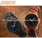 Relógio de madeira Top-Quality Cx-Ww02 do metal do relógio