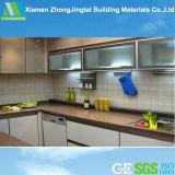 Pietra artificiale variopinta materiale del quarzo della base d'appoggio della cucina, contatori del granito