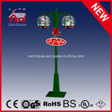Rot und Green Christmas Decoration Lamp mit LED Lights