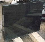 Granito nero puro assoluto superiore delle mattonelle della parete della Cina