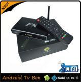 Rectángulo androide HD Amlogic S812 de la cubierta de aluminio llena TV de la antena externa