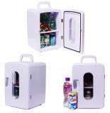 Refrigerador eletrônico 12liter DC12V do carro portátil mini, AC100-240V na função refrigerando e de aquecimento