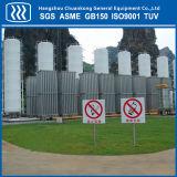 Tanque de armazenamento do CO2 do LPG de GNL do oxigênio líquido da isolação do pó do vácuo com padrão de ASME
