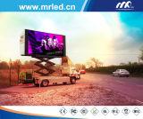 Visualizzazione 2016 di LED mobile di Mrled P10mm (P10 che fanno pubblicità allo schermo del LED)