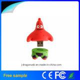 Movimentação feita sob encomenda do flash do USB do bebê da esponja do PVC (JV1192)