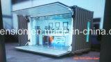 Barra de café móvel simples portátil/casa pré-fabricadas da venda grande/Prefab na rua