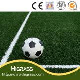 Higrass Erzeugnis-weich haltbarer Anti-UVgefälschter Fußball-Fußball-synthetischer künstlicher Rasen-Preis