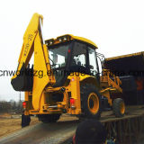 1m3 Loader Bucketの4WD Backhoe Loader