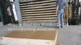 Madera contrachapada natural de la teca de la talla de la alta calidad 3*7 del SGS