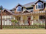 Puerta de jardín de aluminio de la alta calidad de lujo