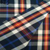 Färbte Baumwollpopelin-gesponnenes Garn 100% Gewebe für Hemden/Kleid Rls50-19po