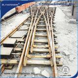 De Schakelaar van de Opkomst van het Spoor van het Staal van de spoorweg
