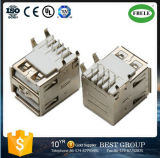 Tipo conetor duplo do USB de Fbusba2-115f do USB do conetor (FBELE)
