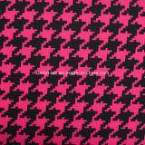 Algodón/tela cruzada impresa Spandex del estiramiento (arte #UC702347P-2)