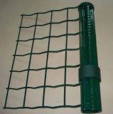 Anpingの工場ヨーロッパの金網の塀PVCは安く電流を通された熱いすくいに塗った