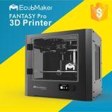 Ecubmakerの温床およびサポートのマルチ材料が付いている二重ヘッド大規模3Dプリンター