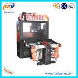 Máquina Rambo de la arcada del simulador del parque de atracciones