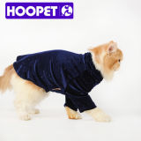 진한 파란색 Dog T-Shirt 및 Design Pet Clothes